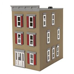 MTH 30-90601 O 3-Story Town House #2 Tan