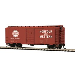 MTH 85-74148 Pullman Standard 40' PS 1 Boxcar Norfolk & Western 385880