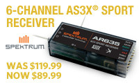 AR635 AS3X 6 Ch Receiver