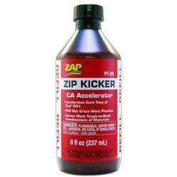 Pacer Glue PT29 ZAP Zip Kicker Refill 8 oz