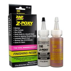 Pacer Glue PT41 Zap Finishing Resin 4oz