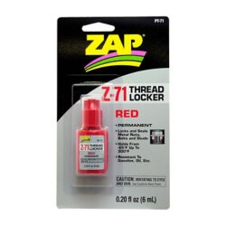 Pacer Glue PT71 ZAP Z-71 Thread Lock .20 oz