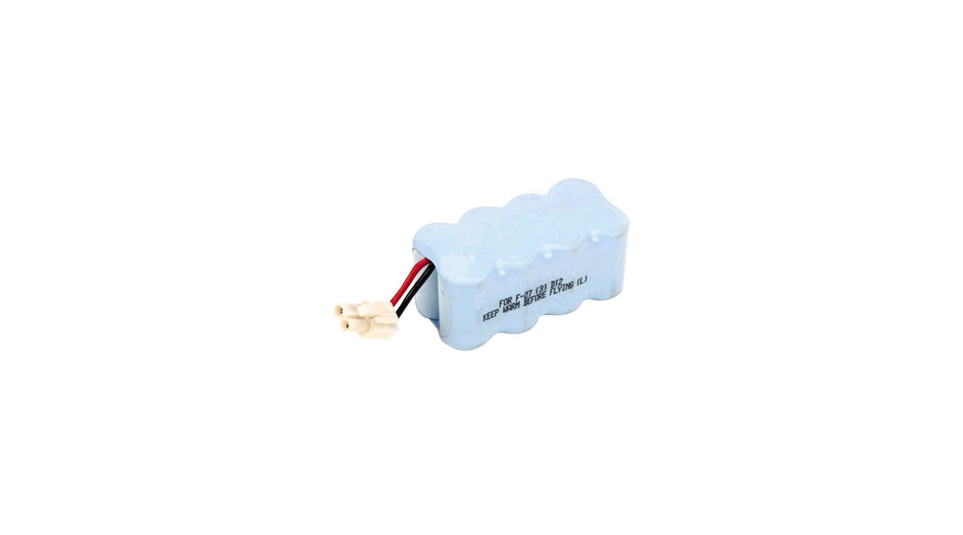 Image for 9.6V 1000mAh Ni-MH Battery: F27B, SC, ABS from HorizonHobby
