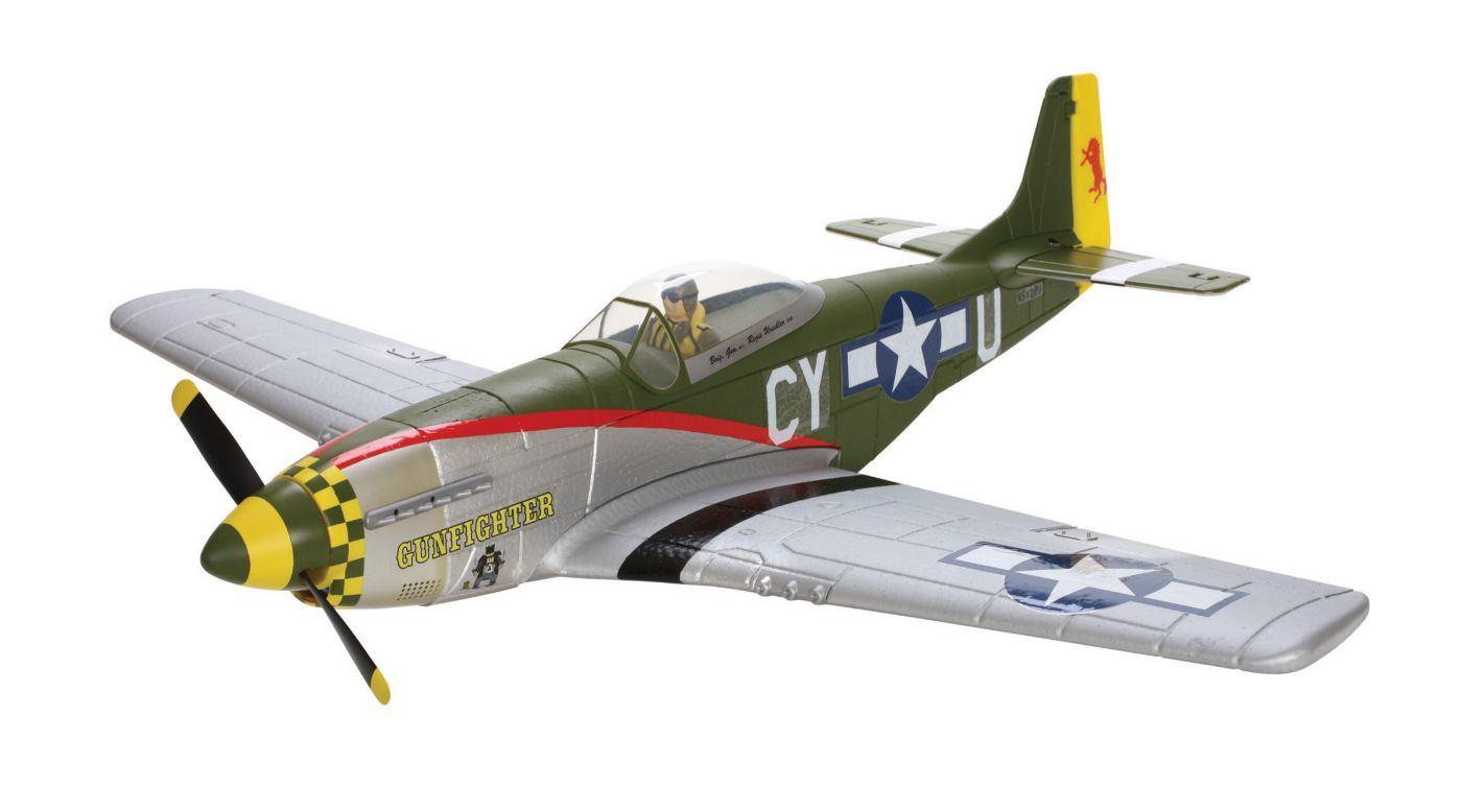 Image for P-51D Mustang BL DSM RTF from HorizonHobby