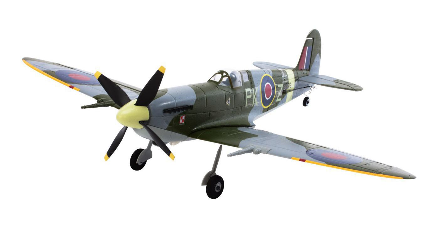 Image for Ultra Micro Spitfire Mk IX BNF with AS3X Technology from HorizonHobby