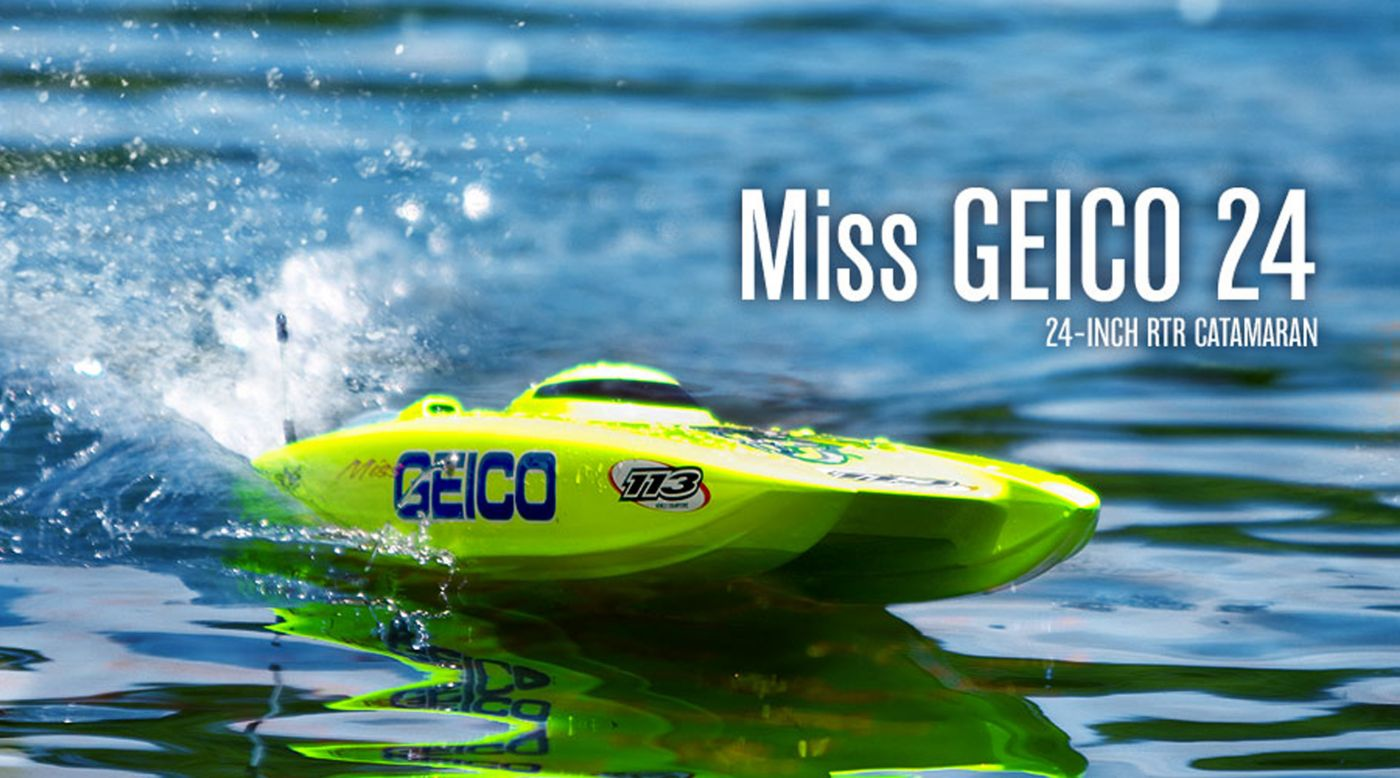 Image for Miss GEICO 24 RTR from HorizonHobby