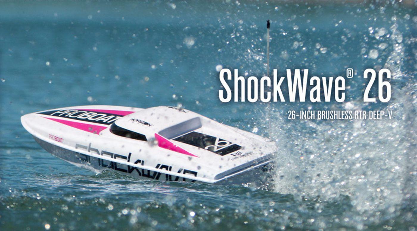 Image for Shockwave 26 V3 BL RTR from HorizonHobby