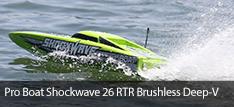 Pro Boat Shockwave 26 Brushless RTR Deep V