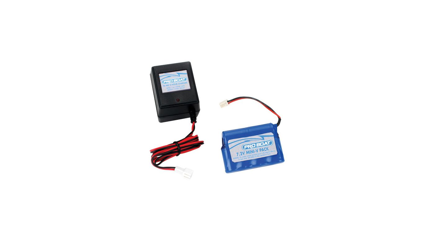 Image for 7.2V 1200mAH 2/3A NiMH Battery with Charger from HorizonHobby