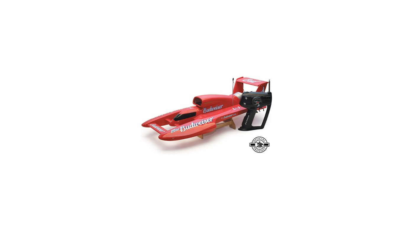 Image for Miss Budweiser RTR 1/12 Unlimited Hydro from HorizonHobby