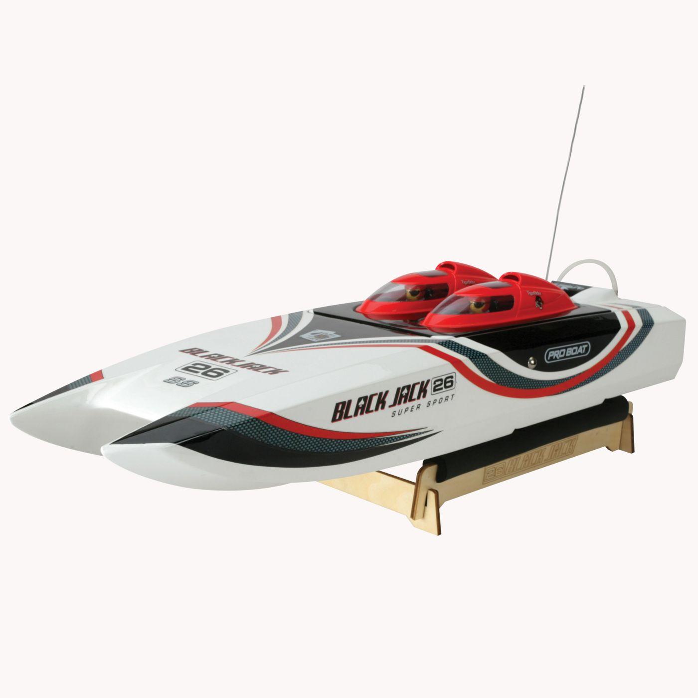Pro boat blackjack 26 ss catamaran 2.4ghz nitro rtr rc boat
