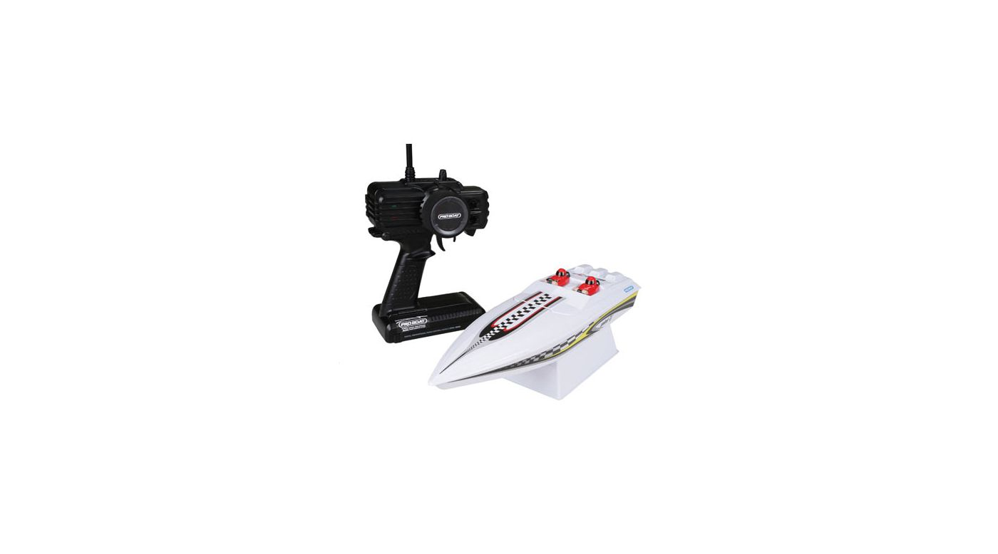 Image for Mini-V EP RTR with Battery and Charger: White from HorizonHobby