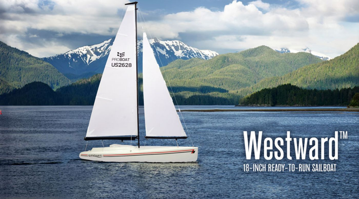 Image for Westward 18 Sailboat RTR from HorizonHobby
