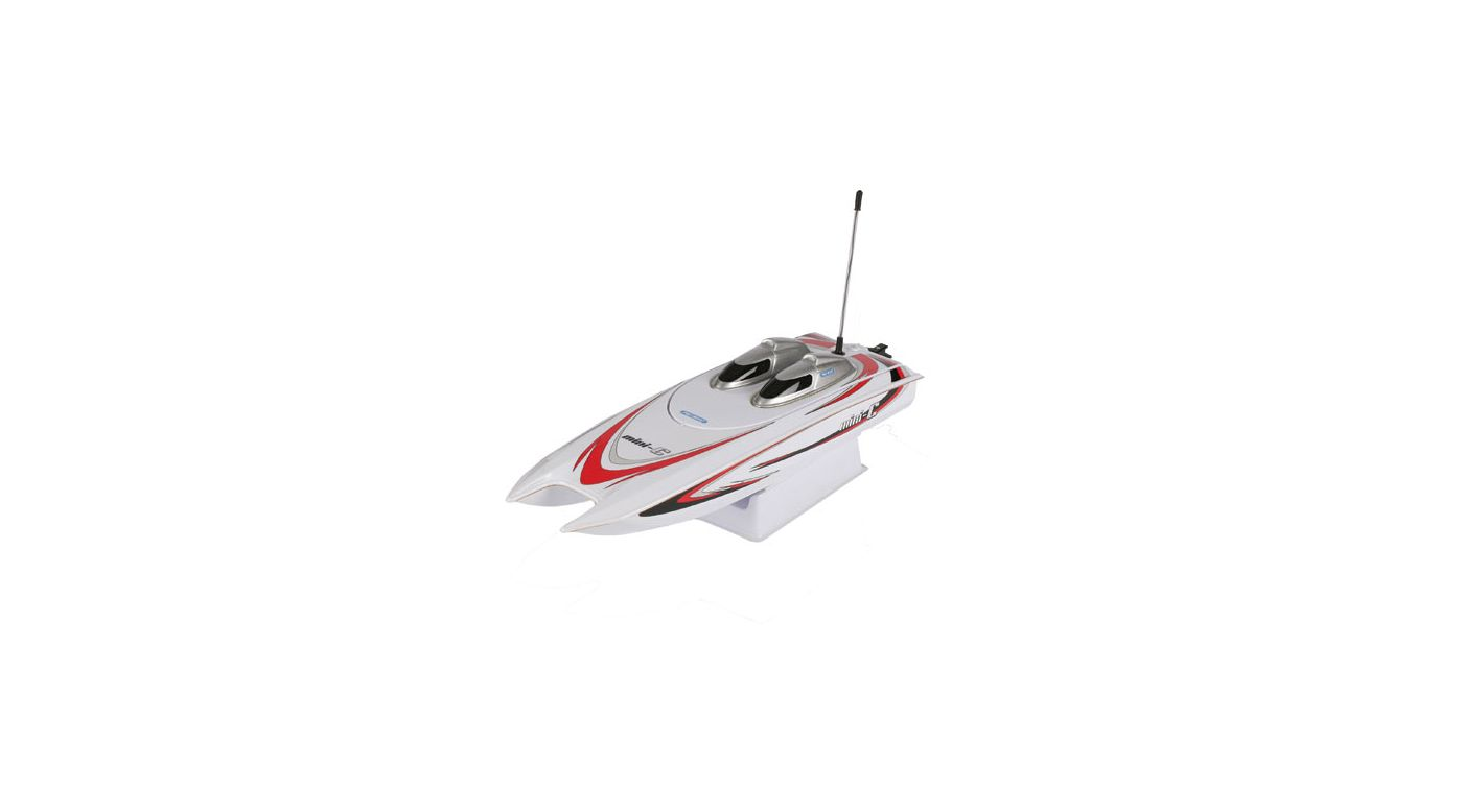Image for Mini-C Catamaran EP RTR White from HorizonHobby