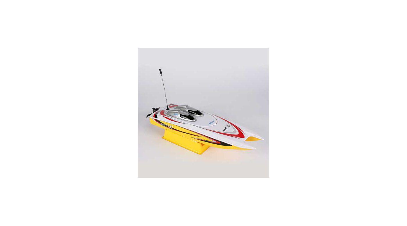 Image for Mini-C Catamaran EP RTR Yellow from HorizonHobby