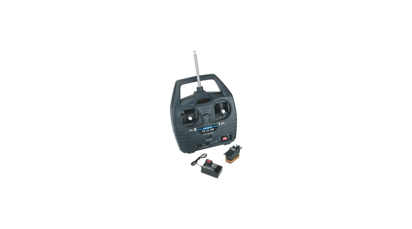 Image for Pro Boat 27MHz AM 2-Stick Radio, 1 Servo from HorizonHobby