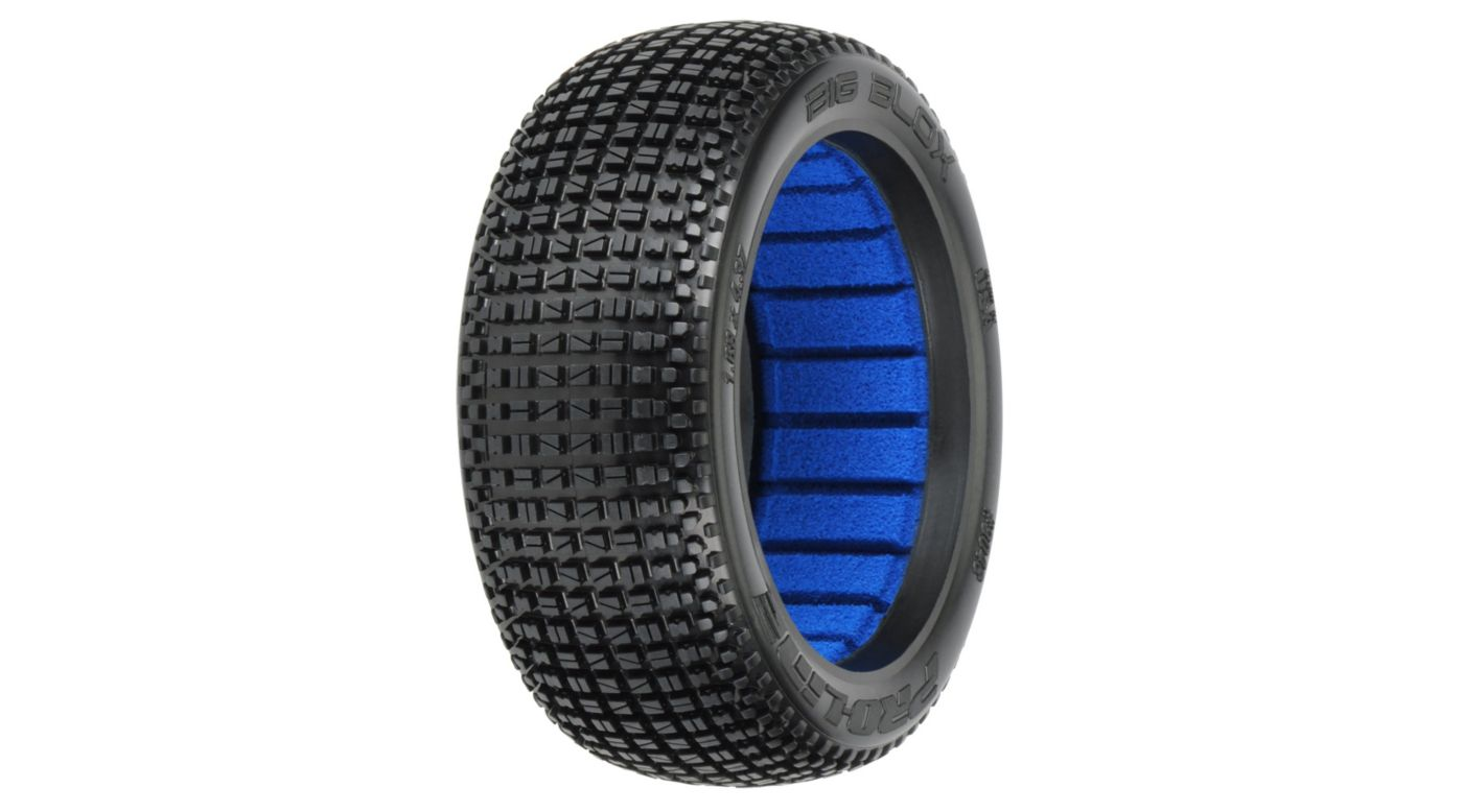 Image for 1/8 Front & Rear Big Blox M4 Off Road Buggy Tires from HorizonHobby