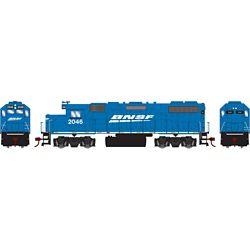 Athearn 12523 HO GP38-2 Burlington Northern Santa Fe BNSF/Blue #2046