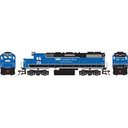 Athearn 12525 HO GP38-2 GATX/Black and Blue #2339