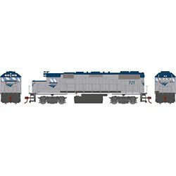 Athearn 12533 HO GP38-2 Amtrak #721