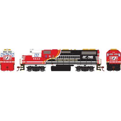 Athearn 16333 HO GP38-2 w/DCC Decoder,NS/Train 1st Respondr#5642