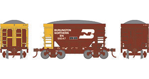 HO Roundhouse 24' Ore Car w/ Load