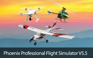 Fly anytime with Phonex Professional Flight Simulator Runtime Games