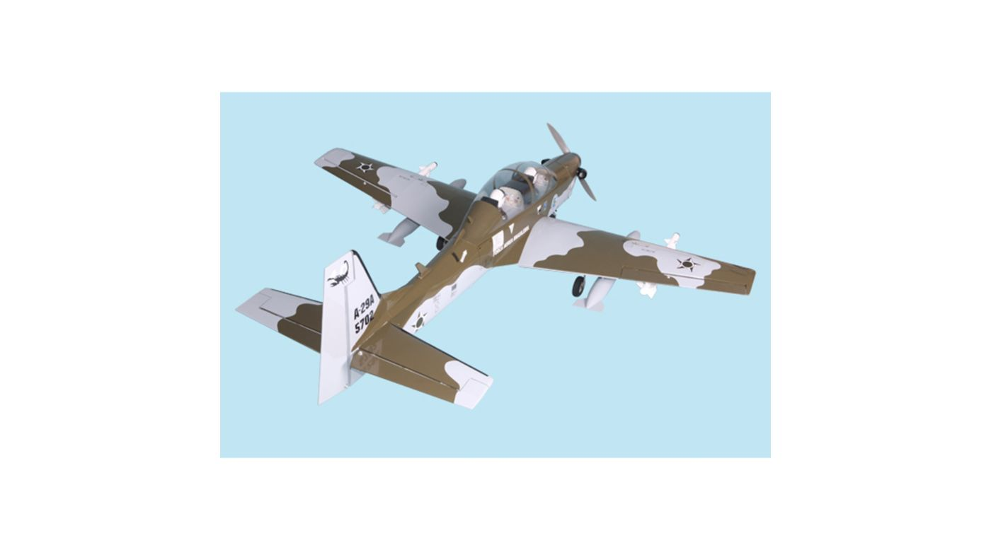 Image for Super Tucano .91-120 ARF from HorizonHobby