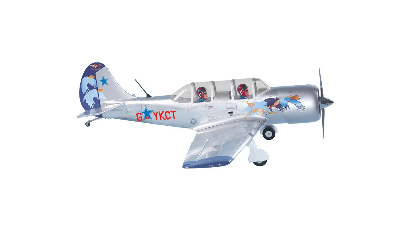 Image for Yak-52 .91 ARF from HorizonHobby