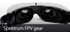 Spektrum FPV Gear for Ultra-Micro RC Aircraft and RC Vehicles