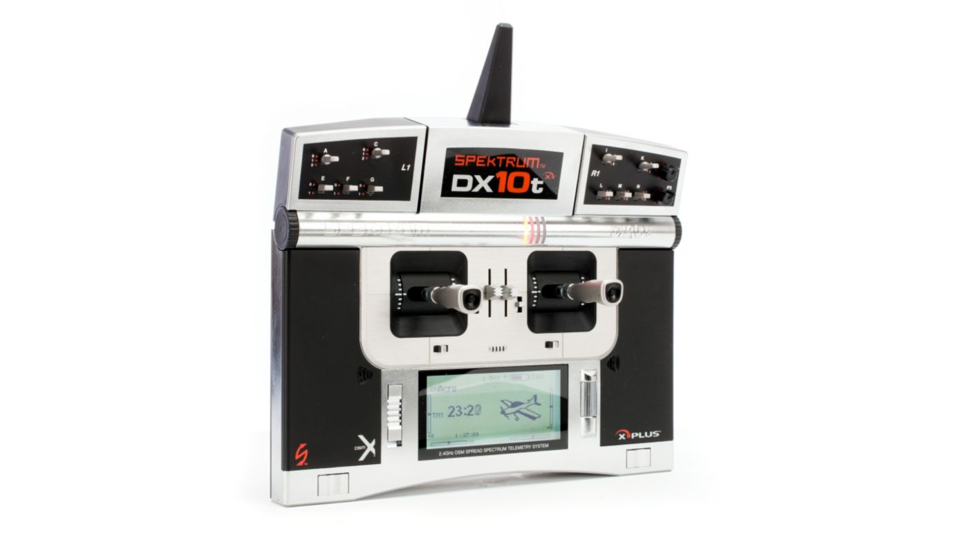 Image for DX10t 10-Channel Transmitter/Receiver Only Mode 2 from HorizonHobby