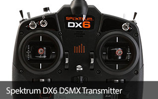 Spektrum DX6 6-channel RC Radio Transmitter