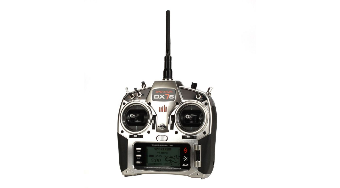 Image for DX7s 7-Channel DSMX® Transmitter with AR8000 Receiver, Mode 2 from HorizonHobby