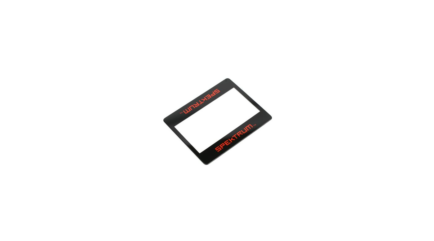 Image for LCD Cover: DX3S/DX2S from HorizonHobby