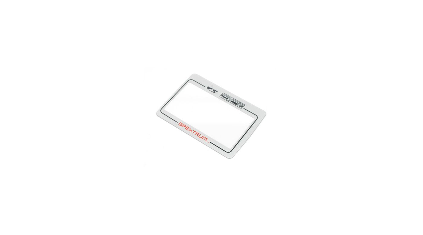 Image for LCD Cover: DX3R PRO from HorizonHobby