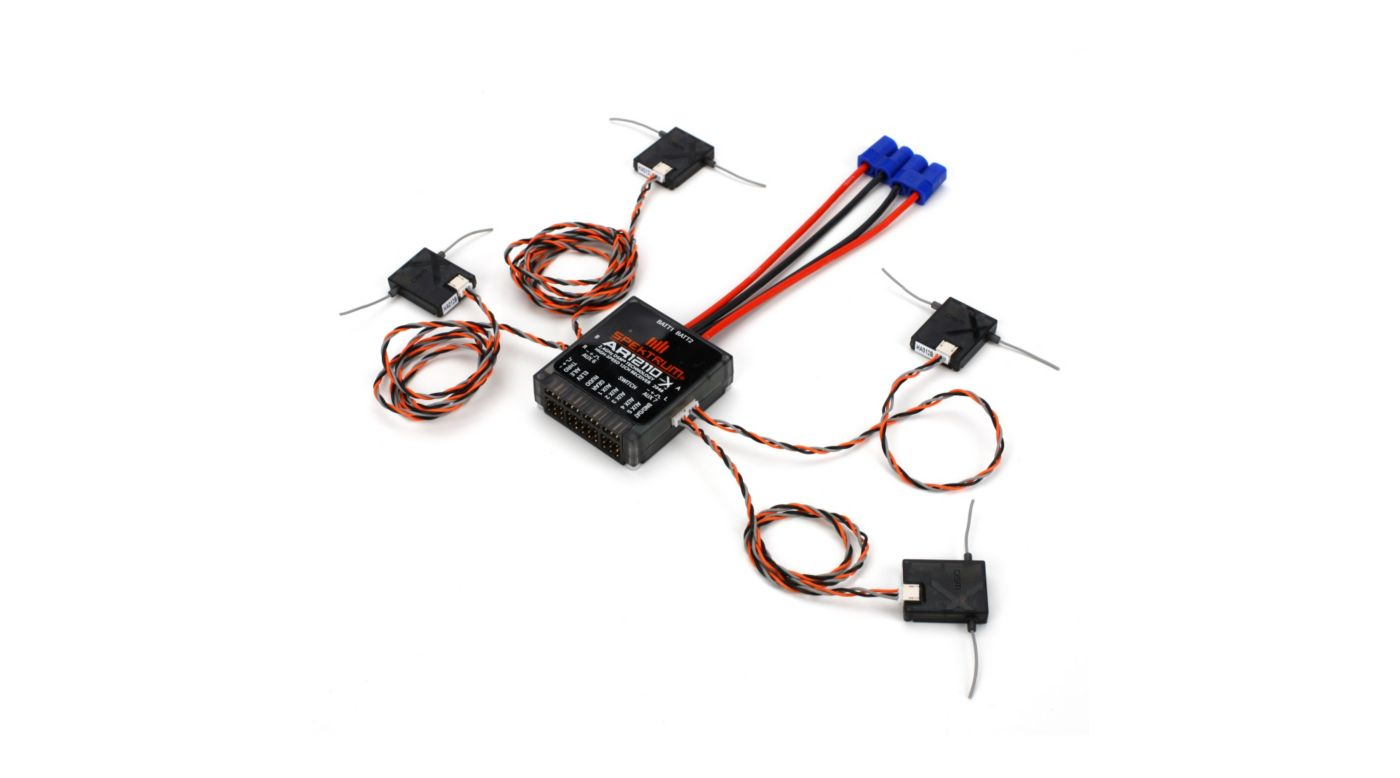 Image for AR12110 12-Channel DSMX PowerSafe Receiver from HorizonHobby