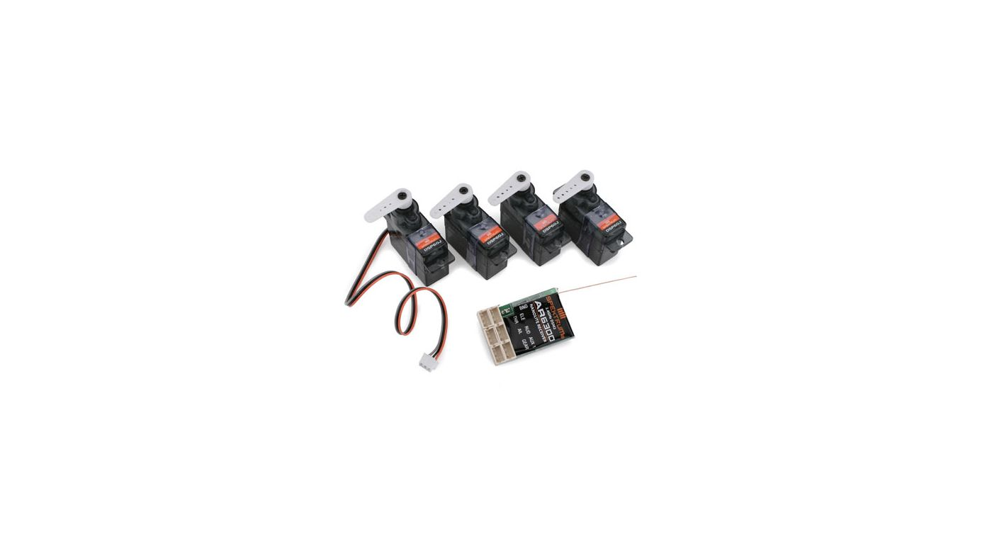 Image for AR6300 DSM2 Nanolite 6-Channel Rx Flight Pack from HorizonHobby