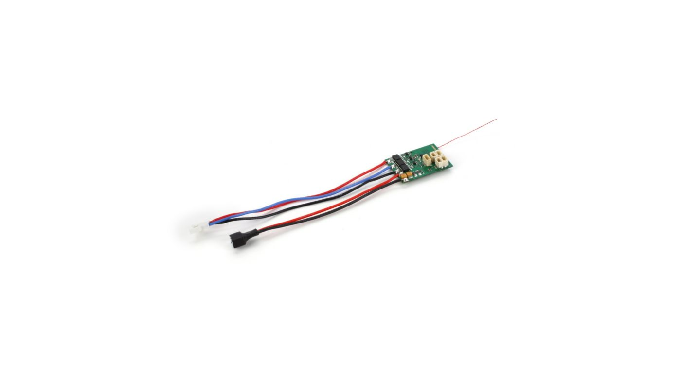 Image for AR6400NBL DSM2 6Ch Ultra Micro Rx BL-ESC No Servos from HorizonHobby