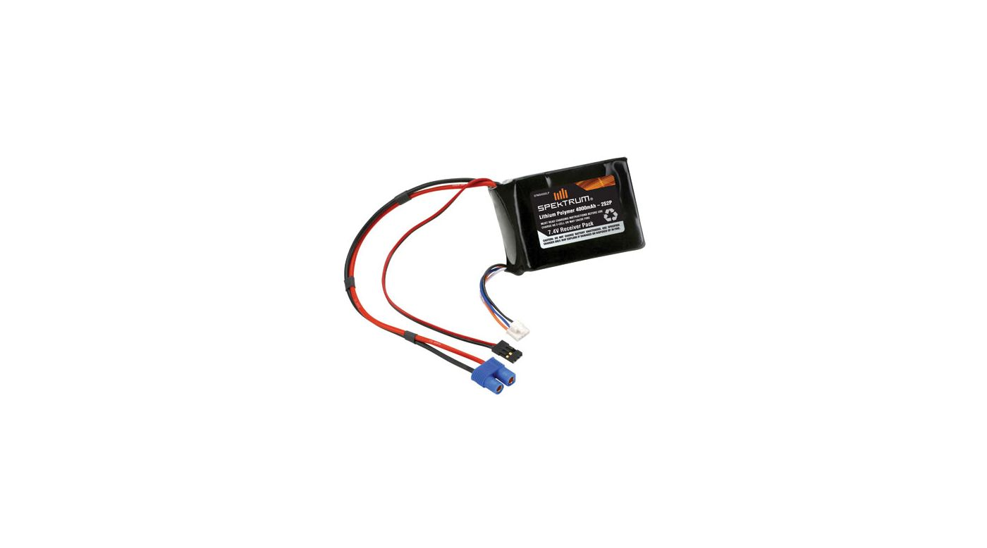 Image for LiPo Receiver Pack 4000mAh from HorizonHobby