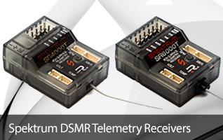 Spektrum Surface DSMR Telemetry Receiver SR4000T SR6000T