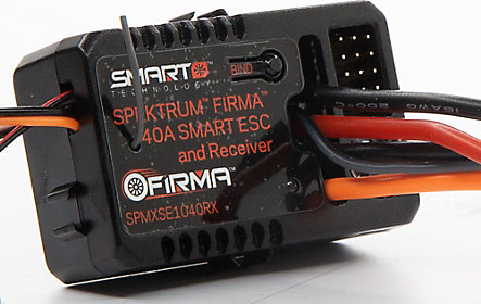 Built-in 4-Channel DSMR®/DSM2® Receiver