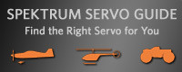 Spektrum Servo Guide