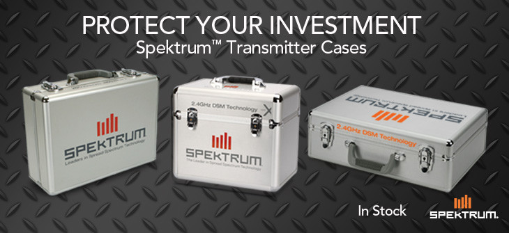 Spektrum TX Cases