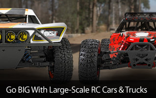 Large Scale 5IVE-T DBXL MTXL X-Maxx Desert Buggy Monster truck