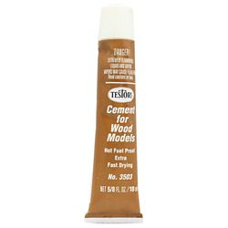 Testor 3503X Wood Cement Extra Fast 5/8 oz