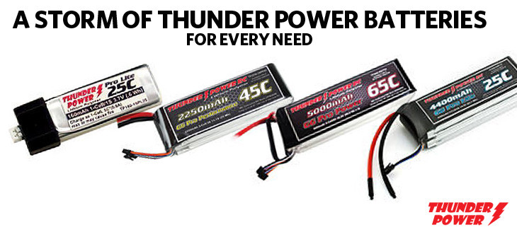Thunder Power Batteries