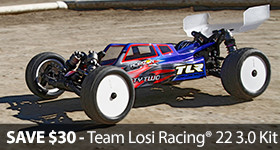 TLR03006 22 3.0 ROAR Champion Buggy Save Sale