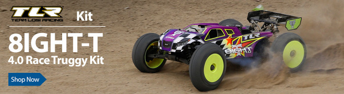 TLR Team Losi Racing 8IGHT-T Kit Tuggy Racing Off Road