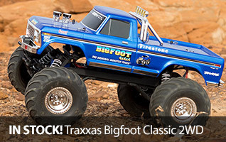 Traxxas 1980 Bigfoot Classic 2WD Monster Truck Stampede