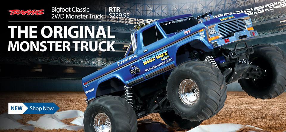 Bigfoot Monster Truck 4x4x4 2WD Traxxas RTR